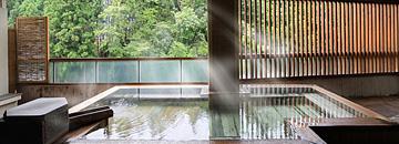 日高見の湯 渓谷展望露天風呂